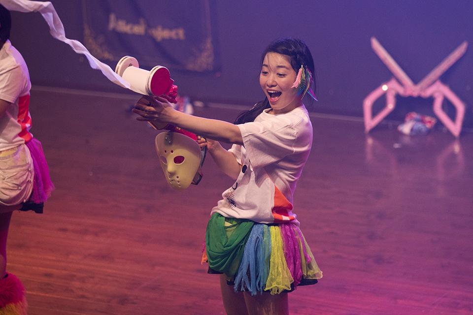 仮面女子 桜雪 トイレットペーパーガン